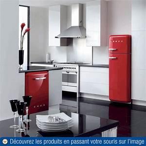 Cuisine Style Année 50 : gamme smeg ann es 50 gros lectrom nager ~ Premium-room.com Idées de Décoration