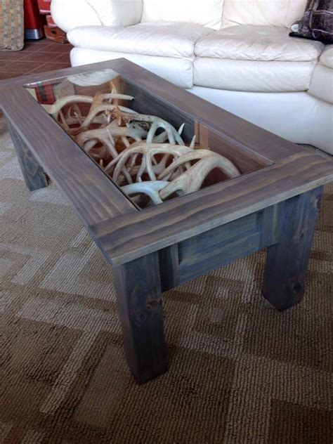 deer antler table ls coffee table clever ideas coffee cabin