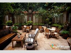 Courtyard in The Greenwich Hotel Oystercom Hotel Reviews