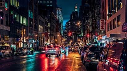 Wallpapers Night Nyc Chinatown York Street Manhattan
