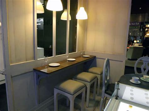 mange debout cuisine plateau mural mange debout 200 40 ep 3 avec 2