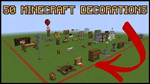 50 Minecraft Decoration Ideas! - YouTube