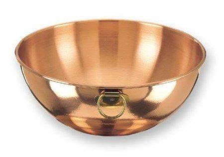 dutch solid copper  quart beating bowl kitchen dining  dutch bowl copper bowl