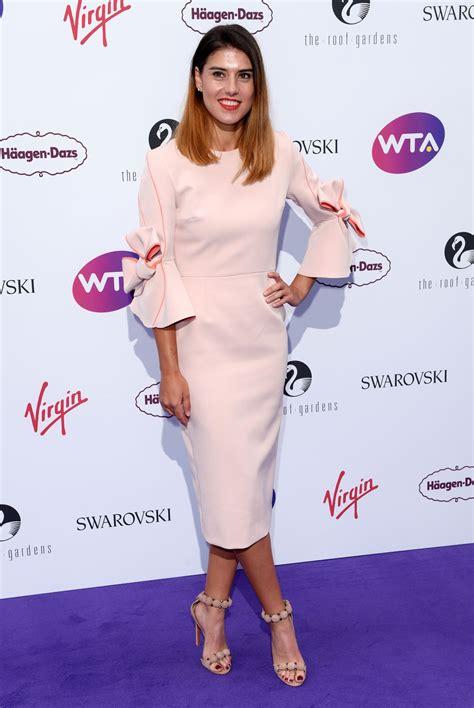 Sorana cirstea takes on johanna konta in round 2 of the us open 2020. Sorana Cirstea - WTA Pre-Wimbledon Party in London 06/29 ...