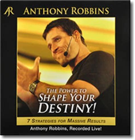 power  shape  destiny audio cds  anthony robbins