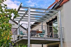 Balkon Mit Glas : stahl ~ Frokenaadalensverden.com Haus und Dekorationen