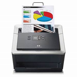 hp scanjet n7710 document sheet feed scanner With stand alone scanner with document feeder