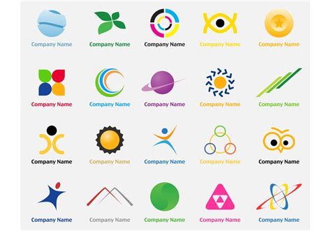 free logo design free logo elements 2 free vector stock