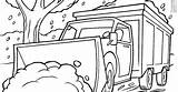 Snow Plow Coloring sketch template
