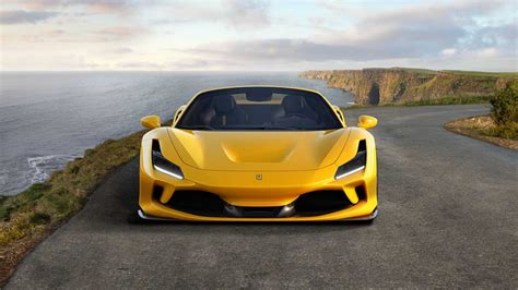 The 488 spider dimensions is 4568 mm l x 1952 mm w x 1211 mm h. New 2020 Ferrari F8 Tributo Spider Yellow Edition