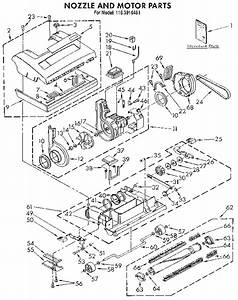 Kenmore Upright Parts