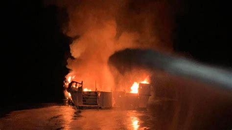 dead  california dive boat fire report