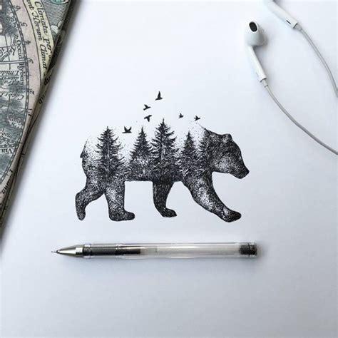 ink animal illustrations  italian artist alfred