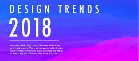 digital design trends what to expect in 2018 usabilla blog