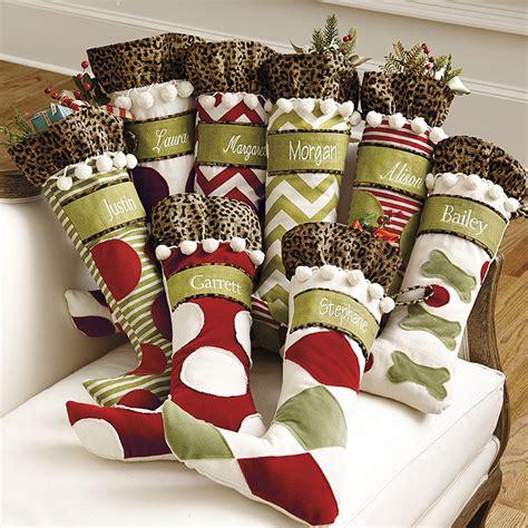 Ballard Personalized Christmas Stockings  Ballard Designs
