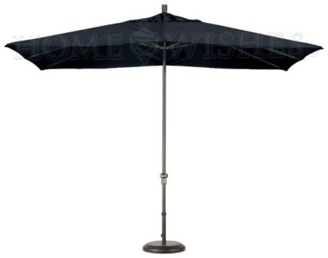 new 11 rectangular sunbrella patio umbrella black