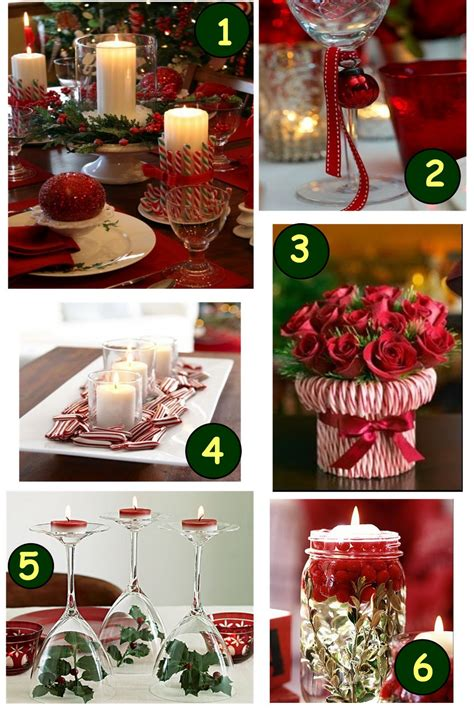 table decoration ideas for parties dining room designs beautiful white and red christmas