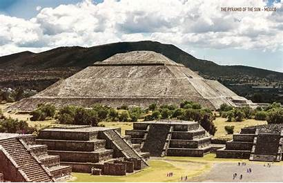 Ancient Historical Famous Buildings Mexico Brought Glory