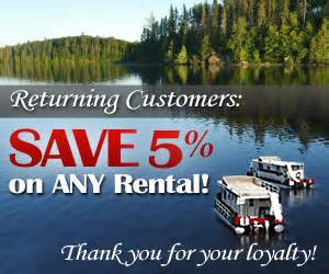 Houseboat Rental Ely Mn by Houseboat Rental Mn Ely Mn Boat Rentals Rent Minnesota Mn