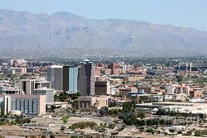 Aerial Of Tucson Az Photograph by Bill Cobb