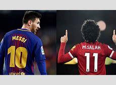 LaLiga Barcelona vs Leganes Messi is level with Salah