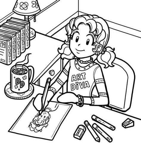 top drawing tips dork diaries