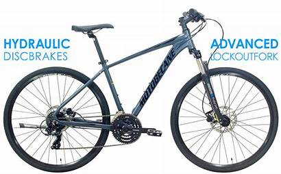 Hybrid Adventure Bikes Lowered Shimano X21 Elite