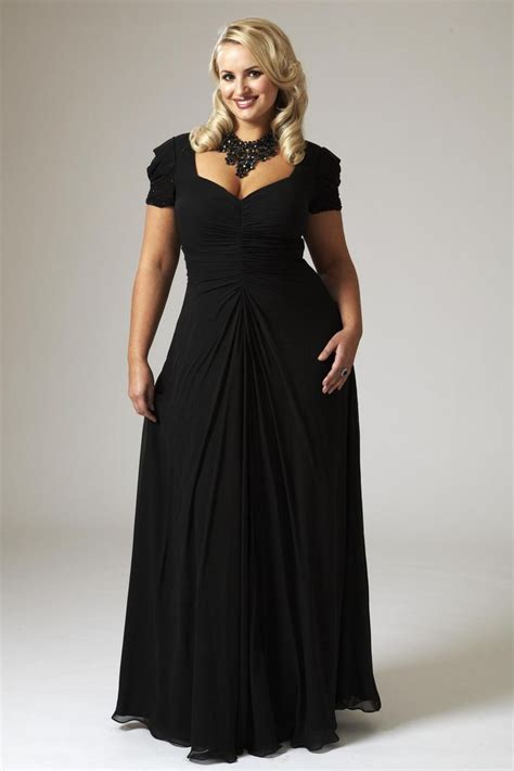 Enjoy The Evening In Plus Size
