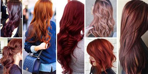 Most Popular Red Hair Color Shades