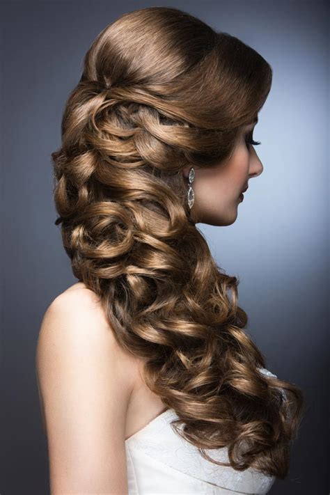 HD wallpapers curly hair updo styles