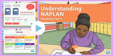 * New * Understanding Naplan  Numeracy Year 5 Powerpoint  Questions, Help
