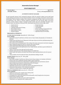 6 automotive service manager resume letter signature With automotive service manager resume templates