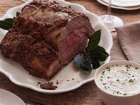 roast prime rib recipe food network kitchen food network