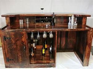 Interior Designs : Elegant Wooden Mini Bar Furniture Set