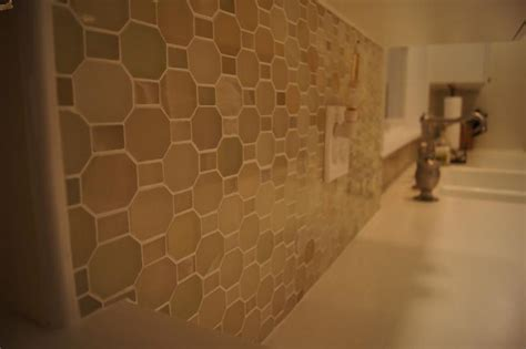 ceramictec polished green river onyx mosaic backsplash