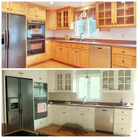 rustoleum cabinet transformations colors before and after refinishing cabinets with rust oleum cabinet transformations