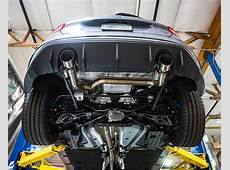 Agency Power Signature Catback Exhaust System Ford Focus