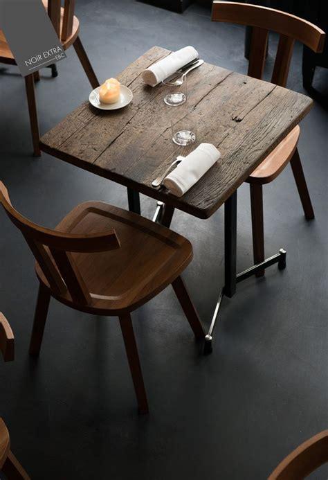 mi bois cuisine the 25 best restaurant tables ideas on cafe