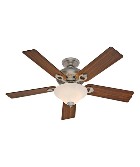 hunter fan 21575 auberge 52 inch ceiling fan with light