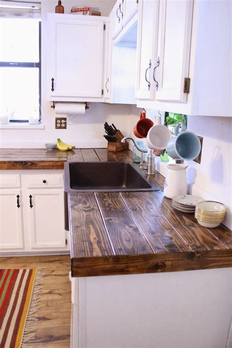 creative countertop ideas best 25 wood countertops ideas on wood