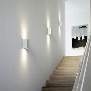 Luminaire Interieur Design : tresol bloc applique murale led argent osram s jour ~ Premium-room.com Idées de Décoration
