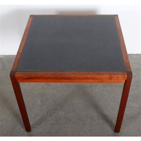 Shop for vintage tables at auction from milo baughman, starting bids at $1. Mid Century Modern Milo Baughman for Founders Walnut Slate Coffee / End Table   Chairish