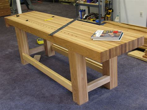 garage workbench plans how to flatten a workbench top with planes work bench