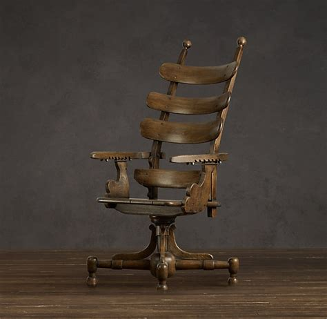 dentist chair from restoration hardware steunk living