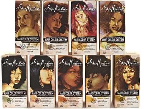 shea moisture color system product review shea moisture hair color system the