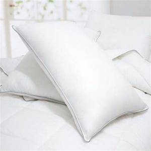 2 pcs bed pillows quennstandard king size hypo alergenic With best king size down pillows