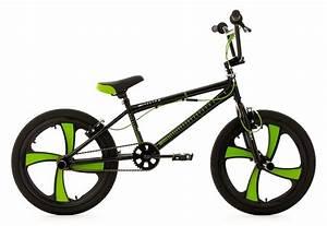 20 Zoll Fahrrad Körpergröße : bmx fahrrad 20 zoll schwarz gr n digit ks cycling ~ Kayakingforconservation.com Haus und Dekorationen