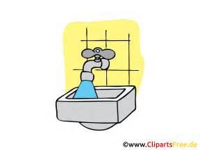 wasserhahn badezimmer wasserhahn im badezimmer clipart bild illustration kostenlos