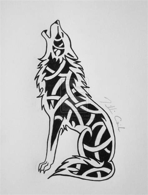 pix  celtic wolf knot artist reference pinterest