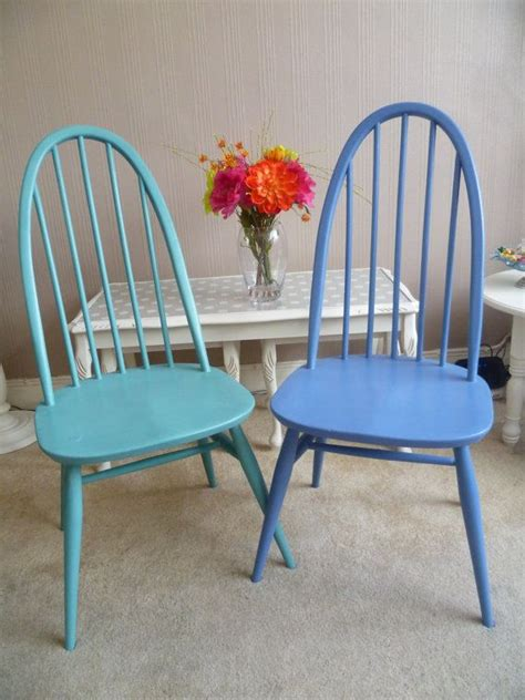 quaker stoelen 2 x vintage shabby chic wooden ercol quaker chairs in